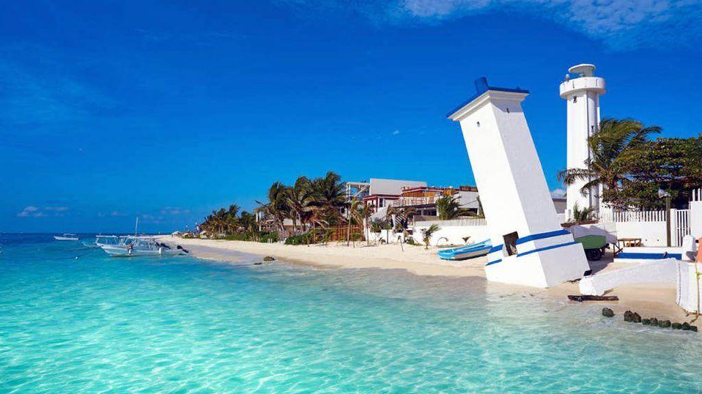 playa de puerto Morelos